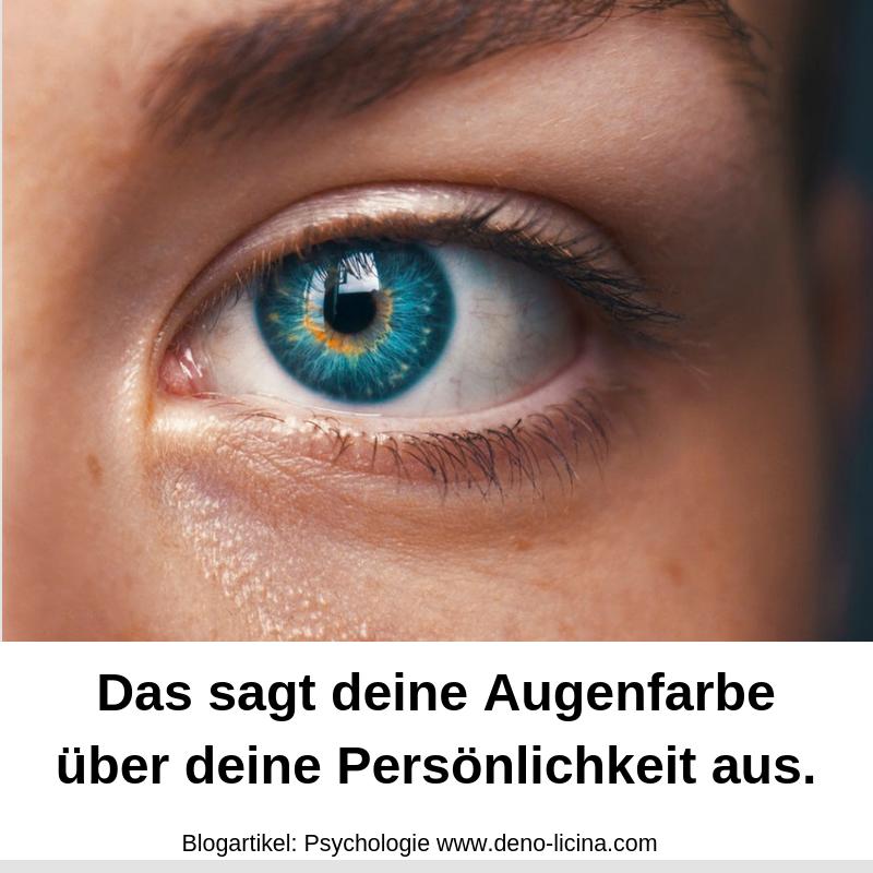 Augenfarbe sprüche Alter egal
