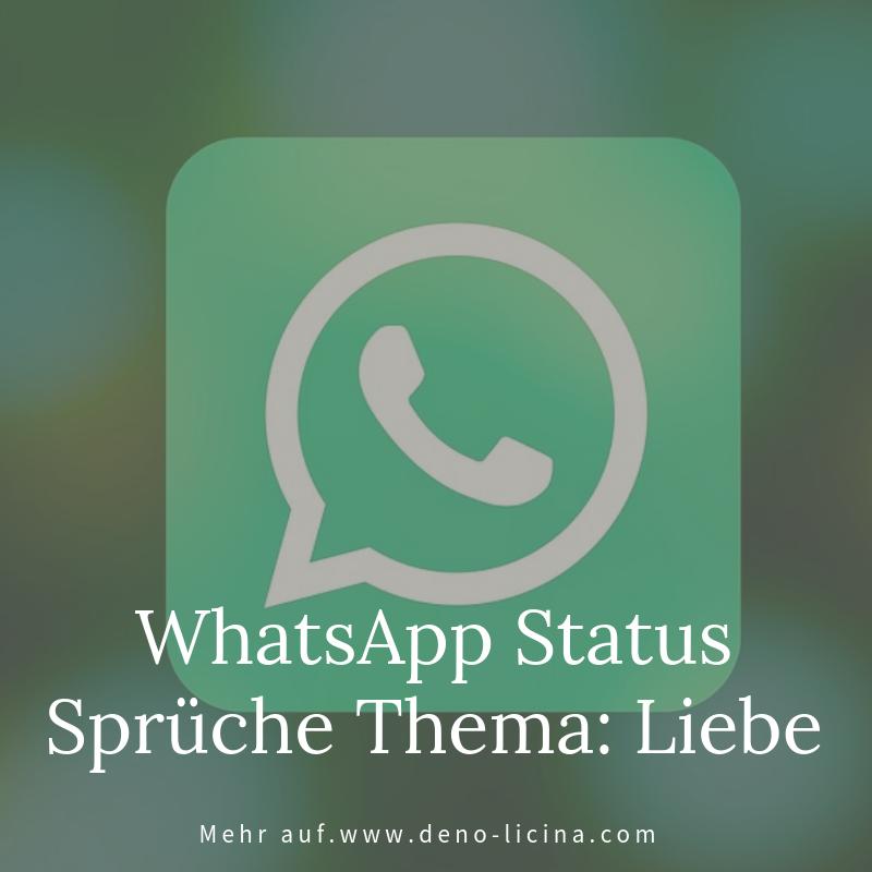 Whatsapp Status Sprüche Thema Liebe Beziehung