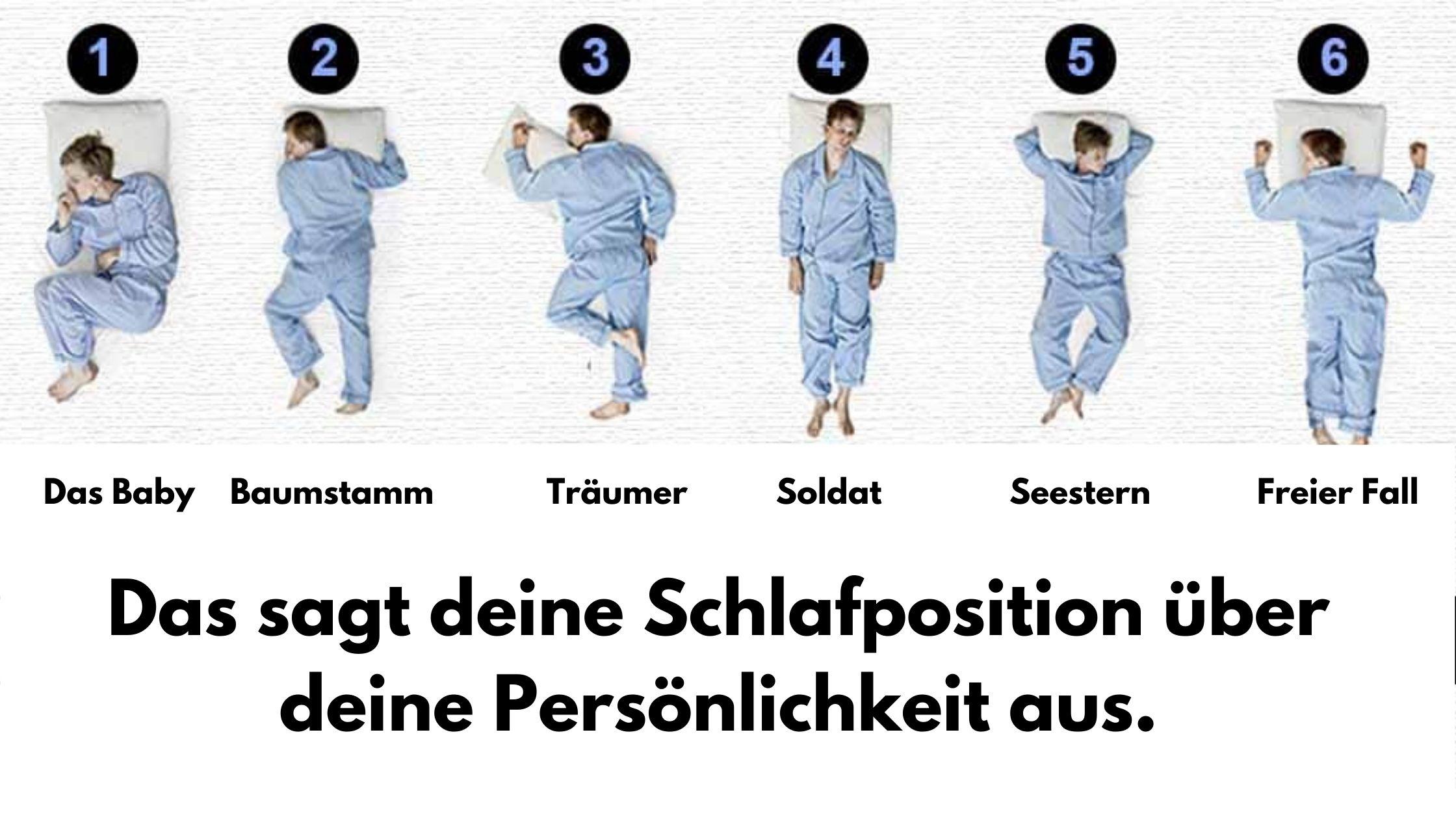 Bedeutung schlafstellungen Schlafpositionen Bedeutung: